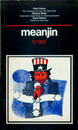 Cover of Meanjin, number 3, 1980.