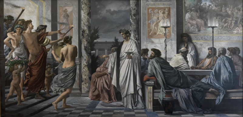 'Plato's Symposium' by Anselm Feuerbach.