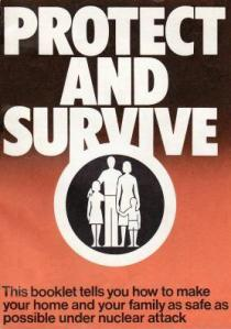 'Protect and Survive', published in the UK in May 1980.