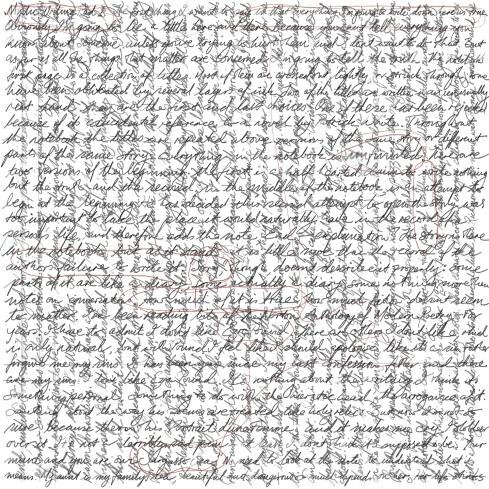 Mystic writing pad 1 [20171127 drawing, 297x297mm]