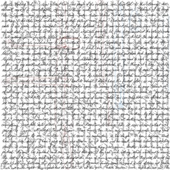 Mystic writing pad 3 [20171129 drawing, 297x297mm]