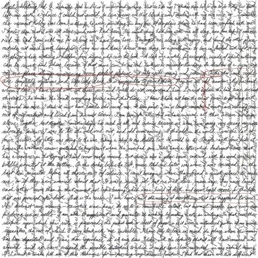 Mystic writing pad 4 [20171130 drawing, 297x297mm]
