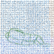 Mystic writing pad 7 [20171212 drawing, 297mm x 297mm] incorporates excerpts of a diary by Trevor Williams; and 'Transposition in the words of James Baldwin' by Stephen J. Williams, which is a transposition in words spoken by James Baldwin. This drawing was published in Rabbit Poetry—a journal for non-fiction poetry (RMIT University, April 2018).